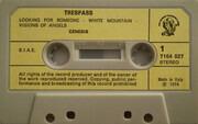 MC - Genesis - Trespass - Still Sealed
