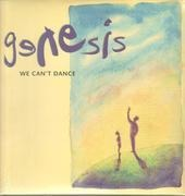 Double LP - Genesis - We Can't Dance