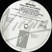 LP - Genesis - Wind & Wuthering - UK