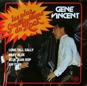 LP - Gene Vincent - Les Plus Grands Noms Du Rock - red labels