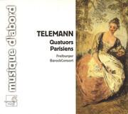 CD - Georg Philipp Telemann - Freiburger BarockConsort - Quatuors Parisiens - Digipak