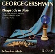 LP - George Gershwin , Slovak Philharmonic Orchestra - Rhapsody In Blue / An American In Paris