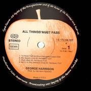 LP-Box - George Harrison - All Things Must Pass - +poster