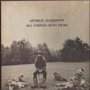 LP-Box - George Harrison - All Things Must Pass - Original Box + Poster
