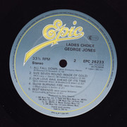 LP - George Jones - Ladies' Choice