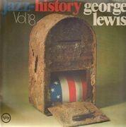 Double LP - George Lewis - Jazz-History Vol.18
