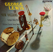 LP - George Lewis With Eclipse Alley Five And The Original Zenith Brass Band - George Lewis Of New Orleans