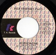 7inch Vinyl Single - George McCrae - Rock Your Baby