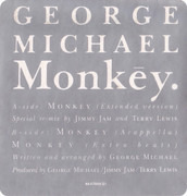 12inch Vinyl Single - George Michael - Monkey - still sealed