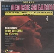 LP - George Shearing / The Bob Freedman Orchestra - It's Real George