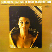LP - George Shearing - Old Gold And Ivory