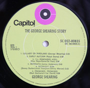 LP - George Shearing - The George Shearing Story