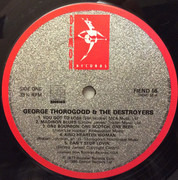 LP - George Thorogood & The Destroyers - George Thorogood And The Destroyers