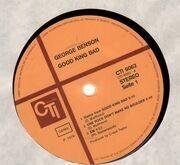 LP - George Benson - Good King Bad - Label Variation