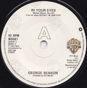 7'' - George Benson - In Your Eyes