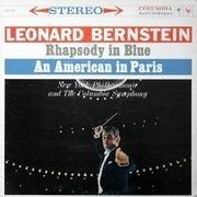 LP - George Gershwin , Leonard Bernstein - Rhapsody In Blue / An American In Paris