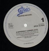 12'' - George Michael - A Different Corner
