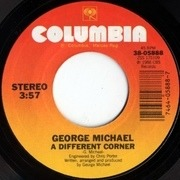 7'' - George Michael - A Different Corner