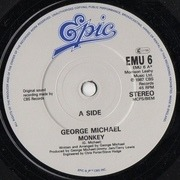 7'' - George Michael - Monkey