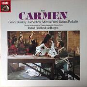LP-Box - Georges Bizet , Grace Bumbry , Jon Vickers , Mirella Freni , Kostas Paskalis , Orchestre National D - Carmen