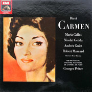 Double LP - Bizet (Callas) - Carmen - DMM / Hardcoverbox + booklet