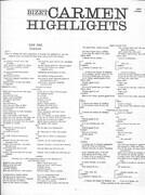 LP - Georges Bizet , Regina Resnik , Mario Del Monaco , Joan Sutherland , Tom Krause , Thomas Schippers - Carmen Highlights