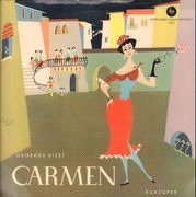 LP - Bizet - Argeo Quadri w/ Wiener Volksoper - Carmen (Kurzoper) - Stitched Gatefold