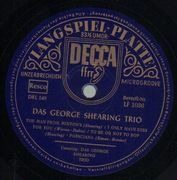 10'' - George Shearing Trio - Same - rare german original