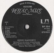 7inch Vinyl Single - Gerry Rafferty - Royal Mile
