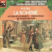LP - Giacomo Puccini - Victoria De Los Angeles , Jussi Björling , Sir Thomas Beecham - La Bohème