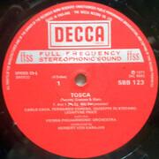 Double LP - Puccini - Leontyne Price, von Karajan w/ Wiener Philh. - Tosca - Hardcoverbox + Booklet