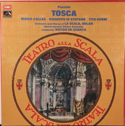 Double LP - Puccini - Tosca - Hardcover Box + Booklet