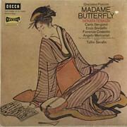 LP - Giacomo Puccini , Renata Tebaldi , Carlo Bergonzi , Enzo Sordello , Fiorenza Cossotto , Angelo Merc - Madame Butterfly