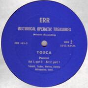 Double LP - Puccini - Tosca - Mono / Private record / textured Hardcoverbox