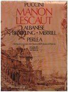 MC - Giacomo Puccini - Manon Lescaut - Box Set