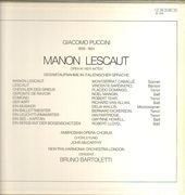 Double LP - Giacomo Puccini / Montserrat Caballé , Placido Domingo, B. Bartoletti - Manon Lescaut - booklet about the opera
