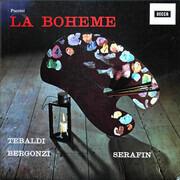 LP-Box - Giacomo Puccini / Renata Tebaldi , Carlo Bergonzi , Ettore Bastianini , Cesare Siepi , Fernando Cor - La Bohème
