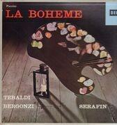 Double LP - Giacomo Puccini / Renata Tebaldi , Carlo Bergonzi , Ettore Bastianini , Cesare Siepi , Fernando Cor - La Bohème