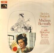 LP - Giacomo Puccini / Sir John Barbirolli - Madama Butterfly: Highlights - Stereo