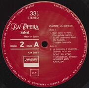 LP - Giacomo Puccini - La Boheme