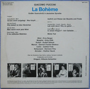 LP - Giacomo Puccini - La Bohème