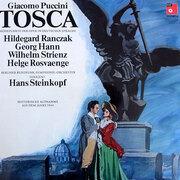 LP - Giacomo Puccini - Tosca,, Hanns Steinkopf, Hildgegard Ranczak, Georg Hann