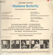 LP - Giacomo Puccini, Erna Berger, Sieglinde Wagner - Madame Butterfly