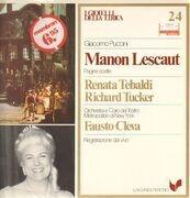 LP - Giacomo Puccini, Renata Tebaldi, Richard Tucker - Manon Lescaut