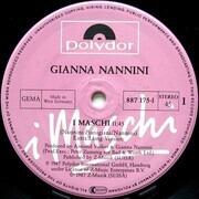 12inch Vinyl Single - Gianna Nannini - I Maschi