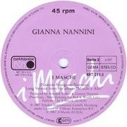 12'' - Gianna Nannini - I Maschi