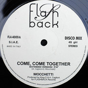12inch Vinyl Single - Gianni Mocchetti - Come Come Together
