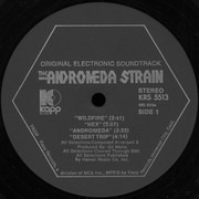 LP - Gil Mellé - The Andromeda Strain (Original Electronic Soundtrack) - regular cover