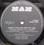 LP - Gilbert O'Sullivan - Gilbert O'Sullivan Greatest Hits