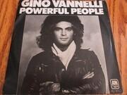 7inch Vinyl Single - Gino Vannelli - Powerful People - Promo